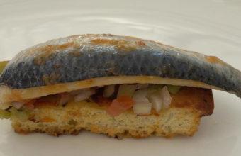 La foccacia de sardina de Mayo