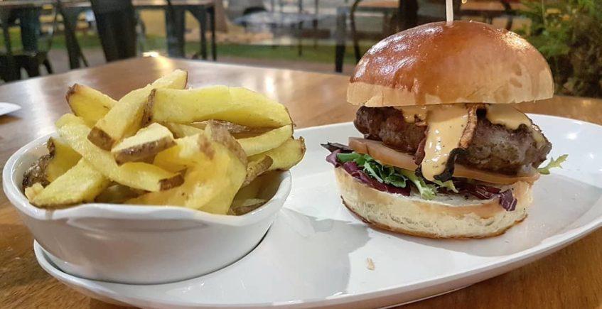 Las hamburguesas de Steve Dogs Burger