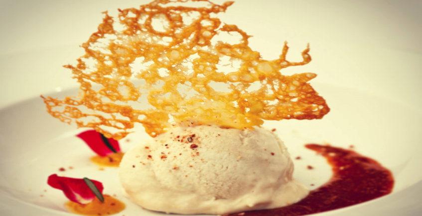El helado de queso viejo de Eslava
