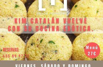 Menú de Cocina Exótica de Kim Catalán