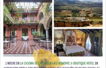 Gastroescapada romántica Oriba + La Casona de Calderón