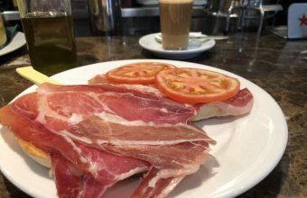 Los desayunos de La Dehesa del Jamón