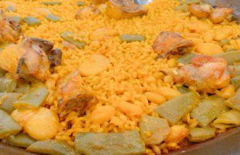 La paella valenciana de L' Albufera