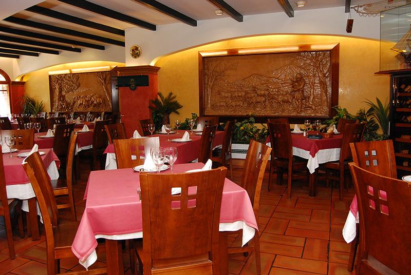 Salón de La Montanera. Foto: Cosas de Comé