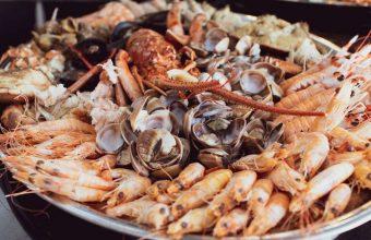La mariscada del restaurante Palenque Varadero