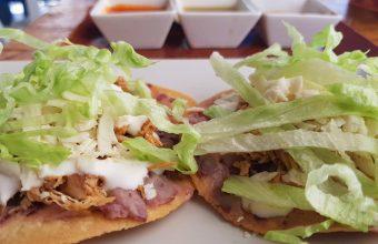 La comida mexicana de la cantina La Catrina