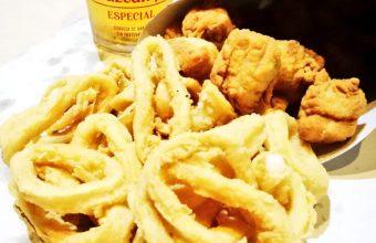 Los calamares fritos de la cervecería freiduría Monte-Sión