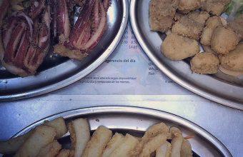 El pescado frito de La Cantina