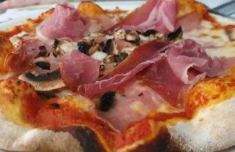 La pizza de Il Basilico