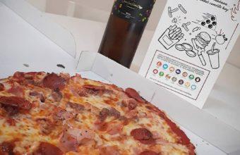 La pizza Las Niñas de la pizzería Las Niñas