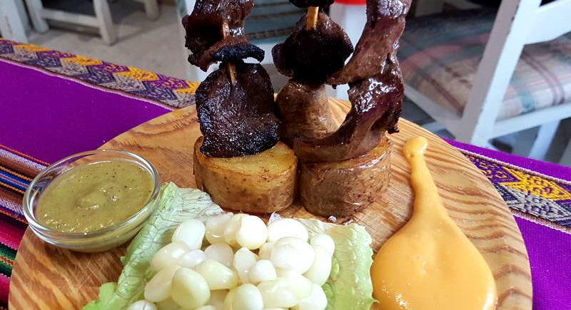 Los platos peruanos de La Salá