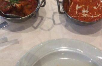 El pollo Karahi de Noor Mahal