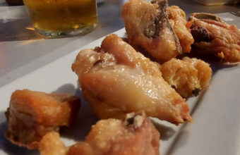 El pollo frito de Casa Prieto