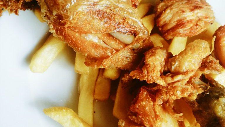 El pollo frito del bar Sancho Panza