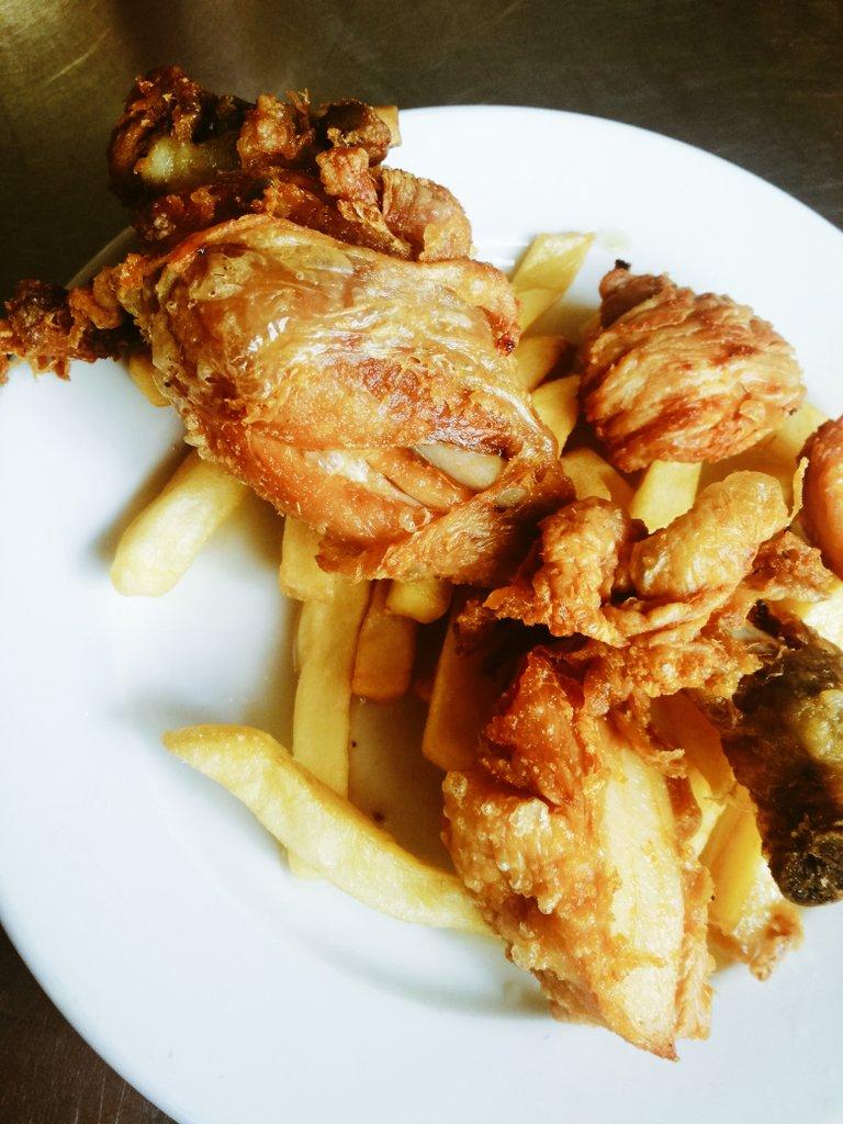 Pollo frito Sancho Panza