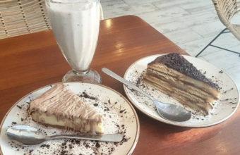 El batido de crema de avellanas y chocolate Kinder de Heladería Puro&Bio