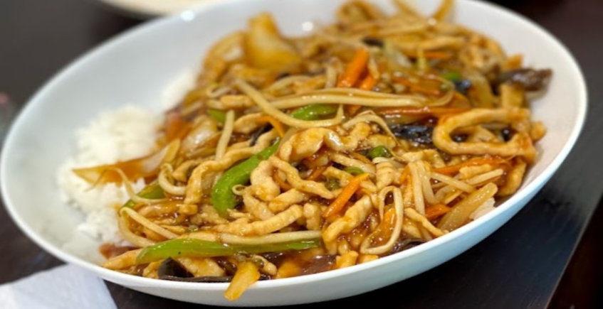 La comida china de Qi Lin Ke