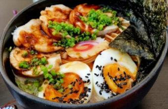 El ramen del Restaurante  Taberuya