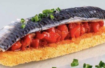 La sardina marinada de Tradevo Centro