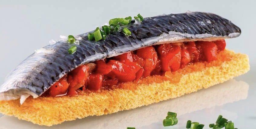 La sardina marinada de Tradevo