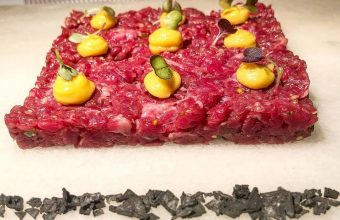 El steak tartar de buey de Tribeca