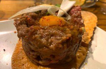 El steak tartar de Chifa Tapas
