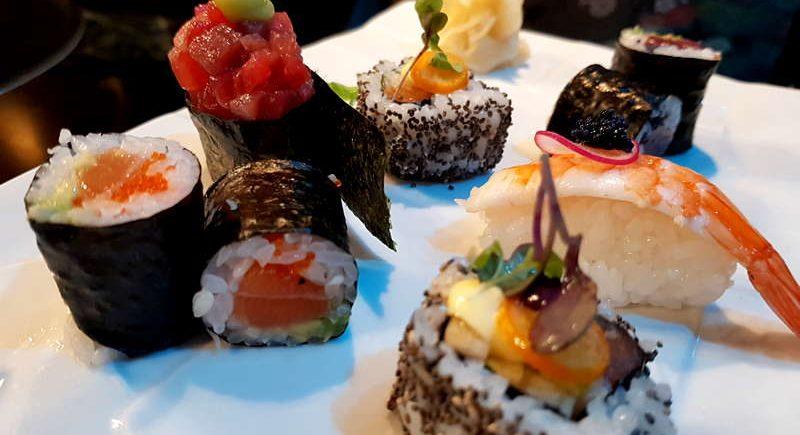 El sushi de Kaori