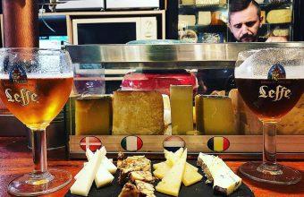 La tabla de quesos del Bar Juan Carlos