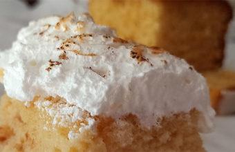 La tarta de tres leches...o cuatro de la pastelería Chocolate