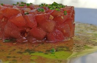 El tartar de tomate de Estraperlo