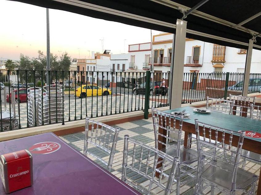 Terraza de El Pulpejo. Foto: Cedida por El Pulpejo