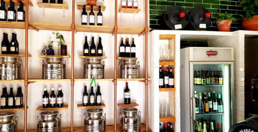La carta de vinos de la Bodega Tienda La Jara