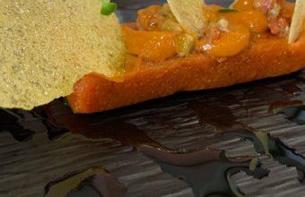 El tomate de Los Palacios en texturas de Manolo Mayo