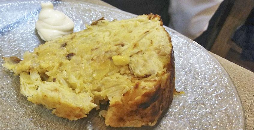 La tortilla de patatas de Tomaré Tapas