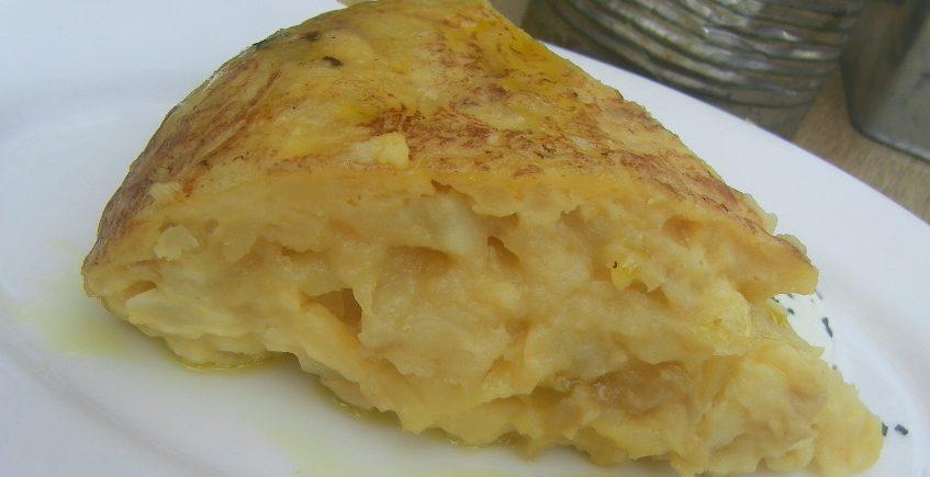 La tortilla de patatas de Uno de Delicias