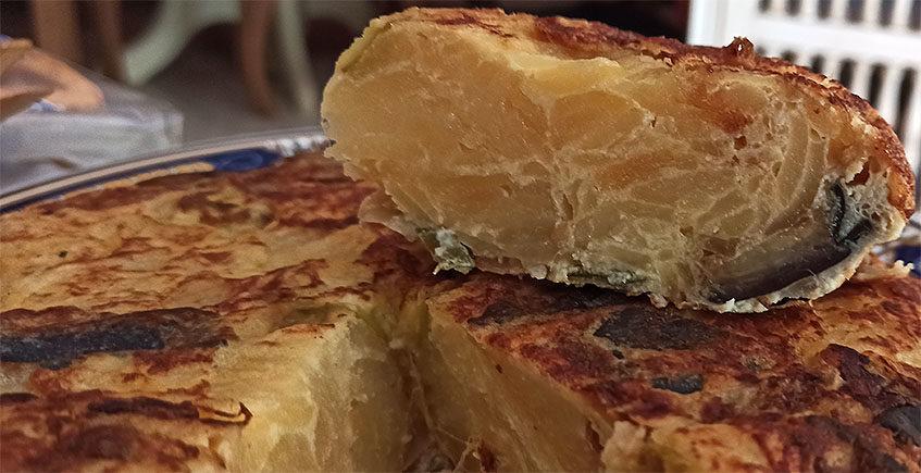 La tortilla de verduras de La Rossi46