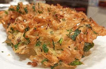 Las tortillitas de camarones de Barbiana