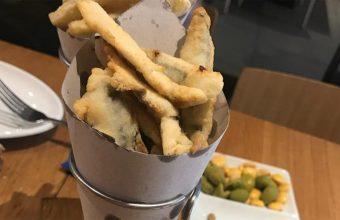 El triptico de frituras de Tradevo