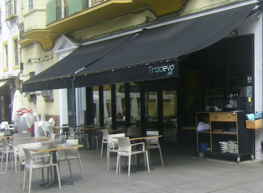 Vista exterior de Tradevo Centro. Foto: Cosasdecome