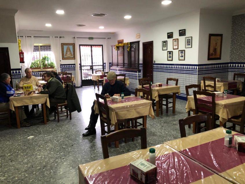 Interior del restaurante El Verdeo. Foto: CosasDeComé.