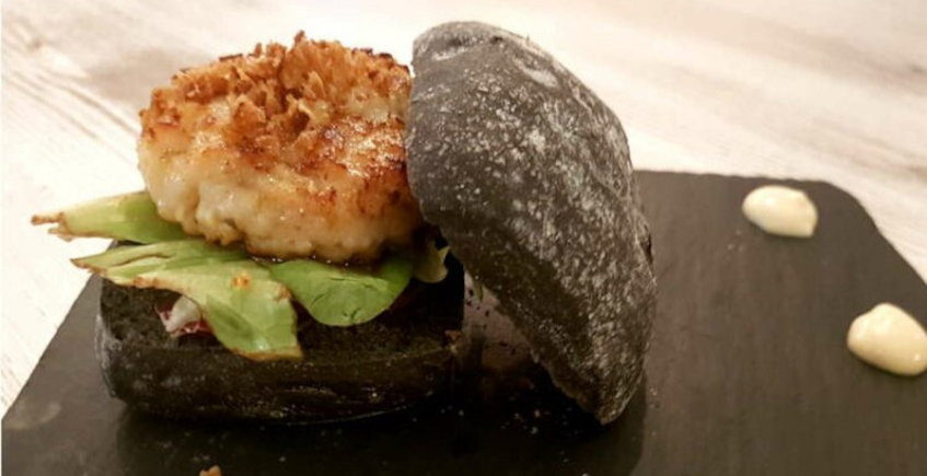 La hamburguesa de calamar de La Sal Tapas