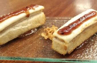 La tosta de lomo en manteca con queso payoyo de La Casapuerta 13