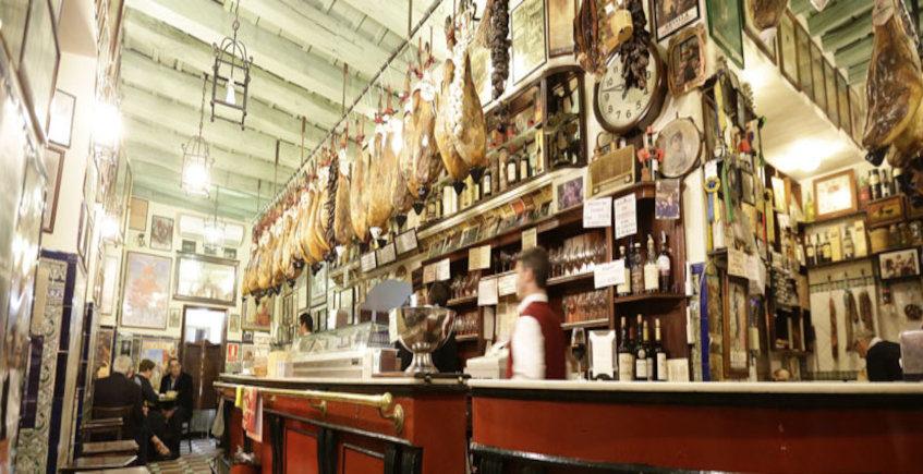 La ensaladilla del Café Bar Las Teresas