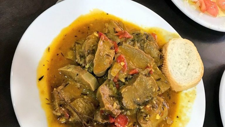 Lengua en salsa de La Jaula