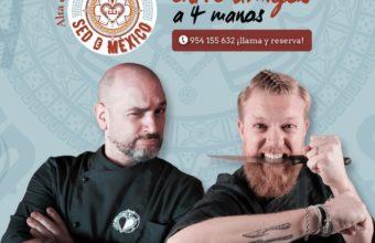 Cocina a 4 manos en Sed de México