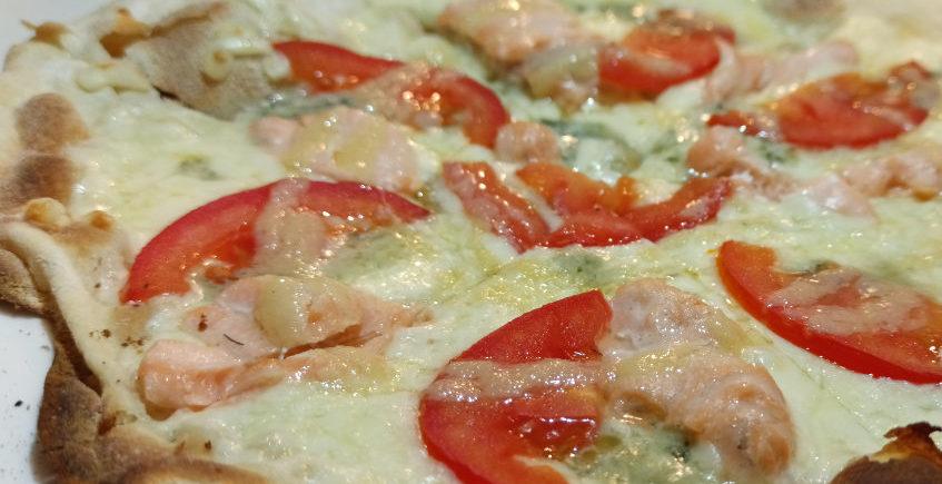 La pizza nórdica de Zarabanda's