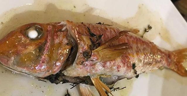 El salmonete de La Azotea
