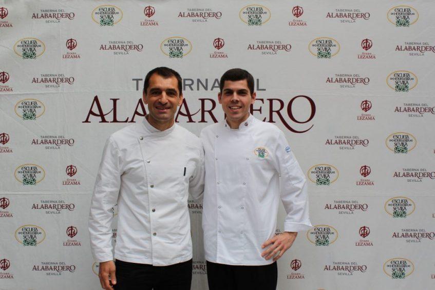 Julio Fernández (Abantal) y Pablo Medrano (Taberna del Alabardero)