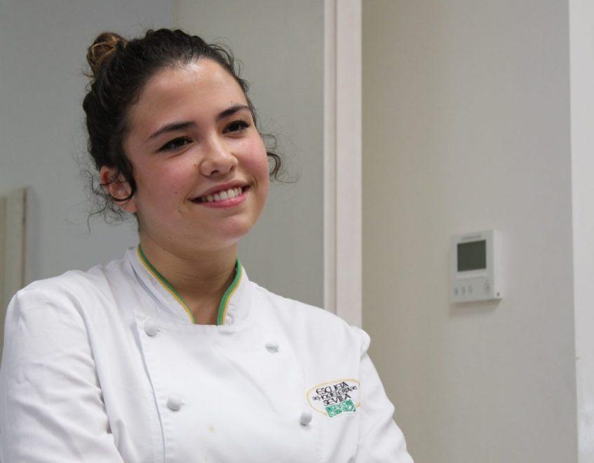 Julia Mesa, ganadora de Cocina con Talento. Foto Cosas de Comé Sevilla