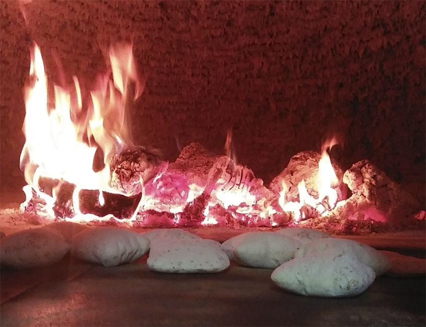 Los mollets cociendo en el interior del horno: Foto: Cosasdecome